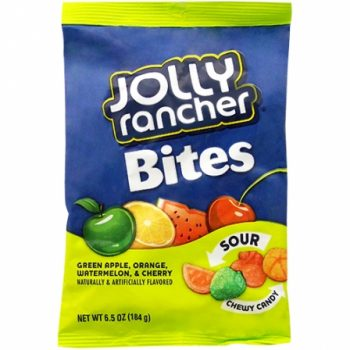 Jolly Rancher Bites Sour 184g 3