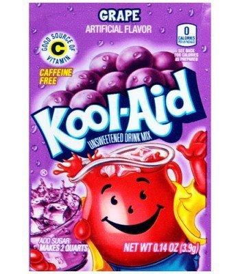 Kool Aid 4.6g sachets grape 3