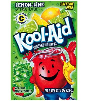 Kool Aid 4 6g sachets lemon/lime - Candy Room Sweet Shop - American sweets  shop, soda, drinks, traditional and retro, pick'n'mix, novelty sweets, old