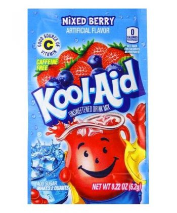 Kool Aid 4.6g sachets mixed berry 3
