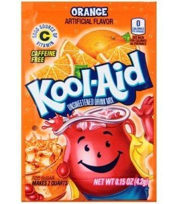 Kool Aid 4.6g sachets orange 3