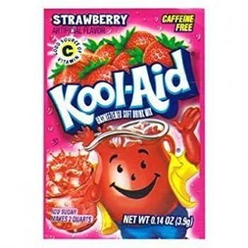 Kool Aid 4.6g sachets strawberry Lemonade 3