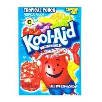 Kool Aid 4.6g sachets tropical punch 3