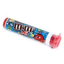 M&M minis 50.2g tube 3