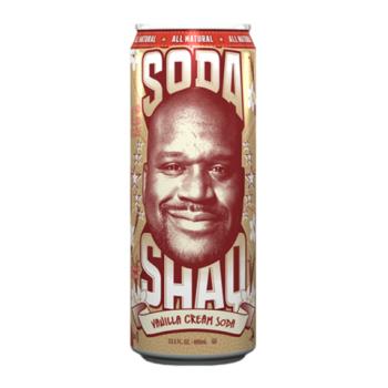 Soda Shaq vanilla cream soda 695ml 3