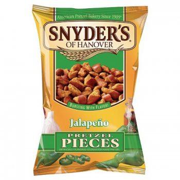 Synders pretzel piecesjalapeno 125g 3