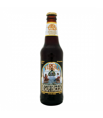 Virgils glass bottle root beer 388 ml  3