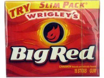 Wrigley big red cinnamon 15 sticks 3