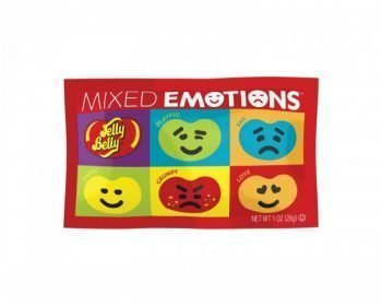 Jelly Belly Mixed Emotions Fun Size Pouch Pack 3