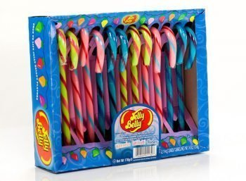Jelly Belly Candy Canes - Tutti-Fruitti, Blueberry and Watermelon 3