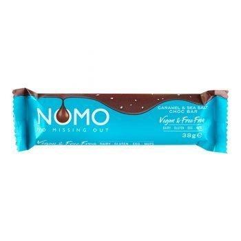 Nomo Caramel and Sea Salt Chocolate 38g 3