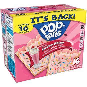 Pop Tarts Pack of 8 Frosted Strawberry Milkshake 3