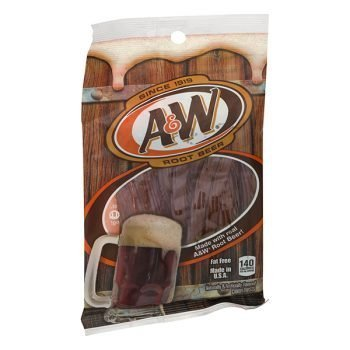 A&W Root Beer Chewy Candy Twists 5oz 3