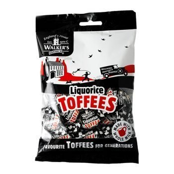Walkers Liquorice Toffees 150g 3