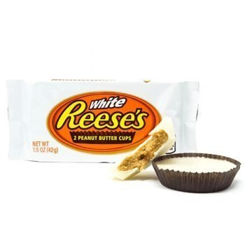 Reese's White Peanut Butter Cup - 39g Pack 3