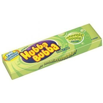Hubba Bubba Chunky Atomic Apple - 5 Pieces Pack 3