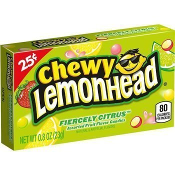Chewy Lemonhead Fiercely Citrus - 23g Box 3