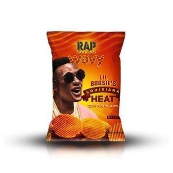 Rap snacks Louisiana Heat - 28g bag6 3