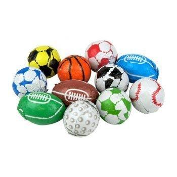 Chocolate Flavour Sports Balls 3