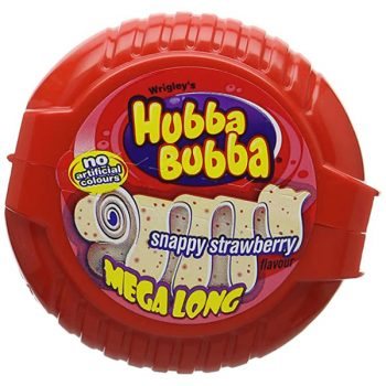Hubba Bubba Mega Long Snappy Strawberry 3
