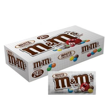 M&Ms White Chocolate - 42.5g Bag 3