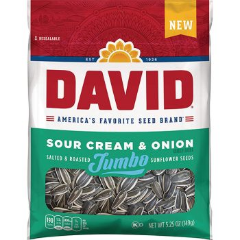 David Sour Cream and Onion Seeds 5.25oz 3