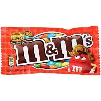 M&MS Peanut Butter - 46.2g Bag 3