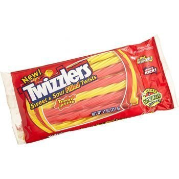 Twizzlers Sweet and Sour - 311g Pack 3