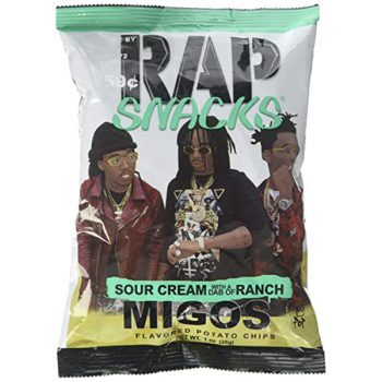 Rap Snacks Sour Cream and Ranch - 28g Bag 3