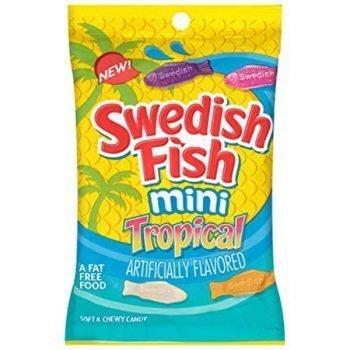 Swedish Fish Mini Tropical 8oz 3