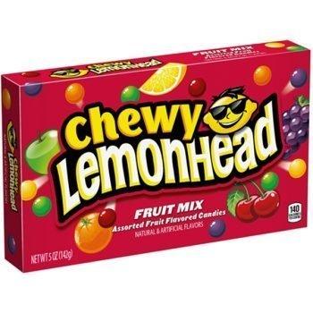 Chewy Lemonhead Fruit Mix Cinema Box - 142g Box 3