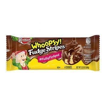 Whoopsy Fudge Stripes Cookies - 66g (4 Cookies) 3