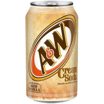 A&W Cream Soda 335ml 3
