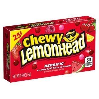 Chewy Lemonhead Redrific - 23g Box 3
