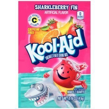 Kool Aid Sharkleberry Fin - 4g Sachet 3