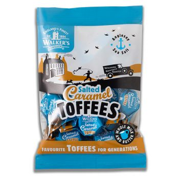 Walkers Salted Caramel Toffees 150g 3