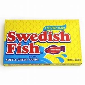 Swedish Fish - 88g theatre box 3