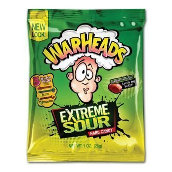 Warheads Extreme Sour Hard Candy - 28g Bag 3
