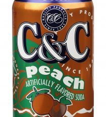 C & C Peach 355ml 6