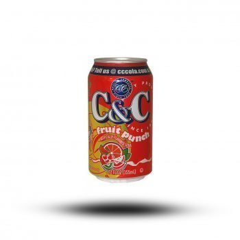C & C Fruit Punch 355ml 4