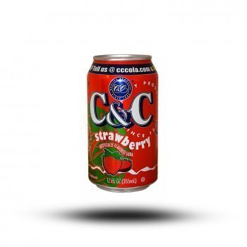 C & C Strawberry 355ml 3