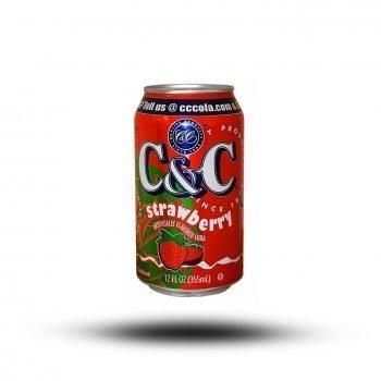 C & C Strawberry 355ml 4