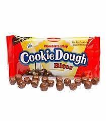 Chocolate chip cookie dough bites 1.75oz 3