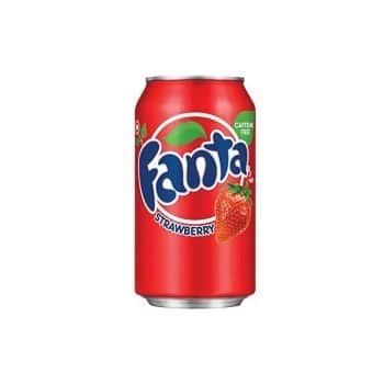 Fanta Strawberry 355ml 2