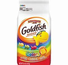 Goldfish Colours cheddar 6.6oz 4