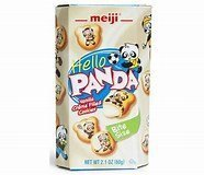 Meiji Hello Panda Vanilla Cookies 2.1oz (60g) 4
