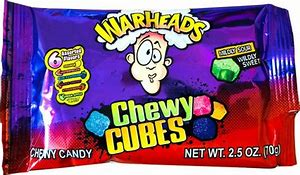 Warheads chewy cubes 70g 3