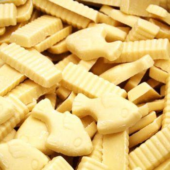 Fish N Chips White chocolate 100g 3