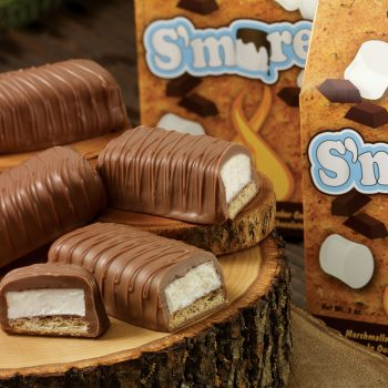 American S'Mores covered in creamy milk chocolate 3