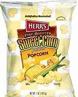 Herr's fire roasted sweet corn flavoured popcorn 3